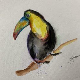 Krjanina Watercolor Birds Collection