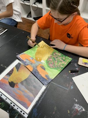 Art Studio offers art lessons and Fluid Art Workshops for kids and adults