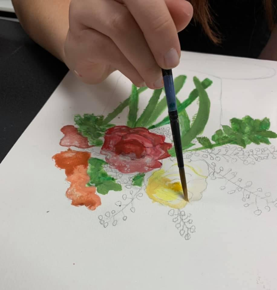 Art lessons in groups for kids and adults