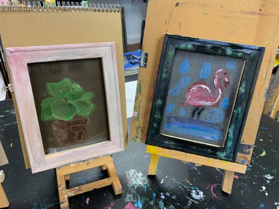 Art lessons for kids and adults